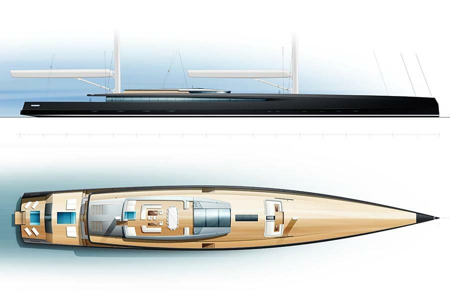 Презентация 90-метровой парусной яхты от Philippe Briand и другие новости
