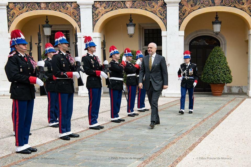 Дела княжеские: князь Монако принял премьер-министра Албании