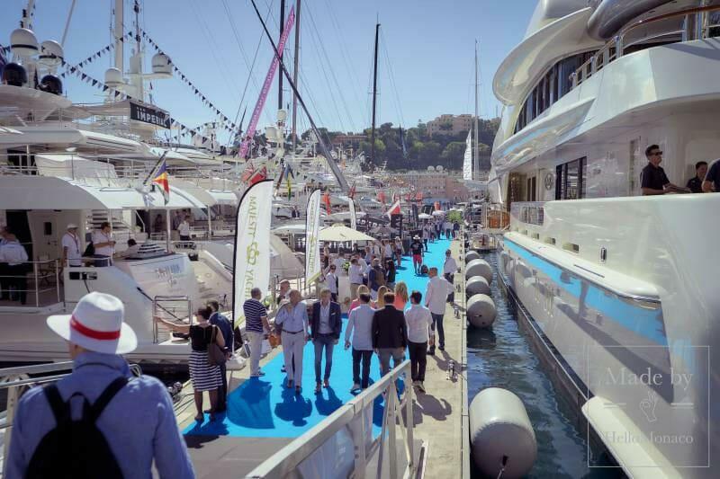 Изменение времени работы Яхт-шоу Монако 2019