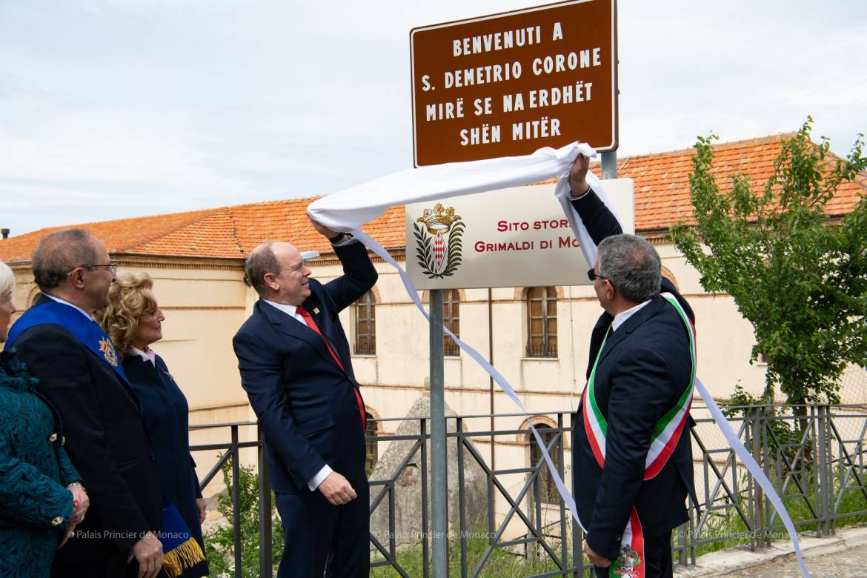 Дела княжеские: князь Монако посетил итальянскую коммуну