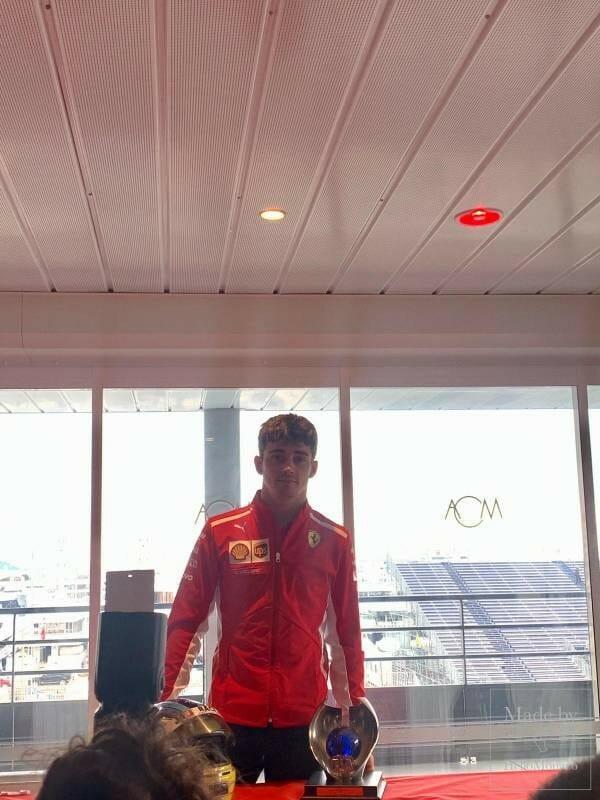 Шарль Леклер о дебюте в Ferrari
