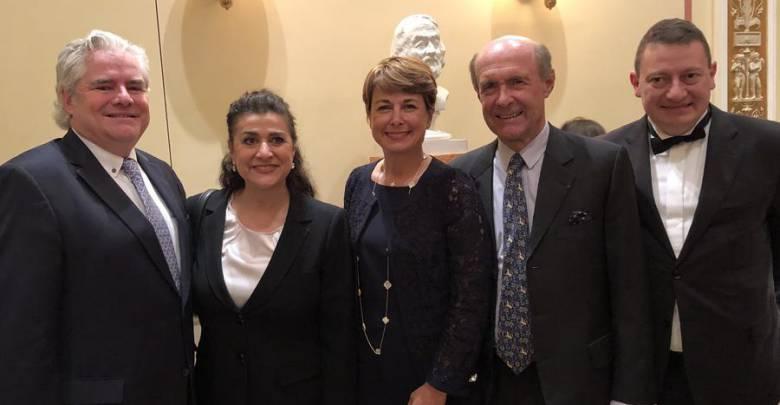 Посольство Монако в Австрии: прием по случаю концерта Чечилии Бартоли и Музыкантов князя