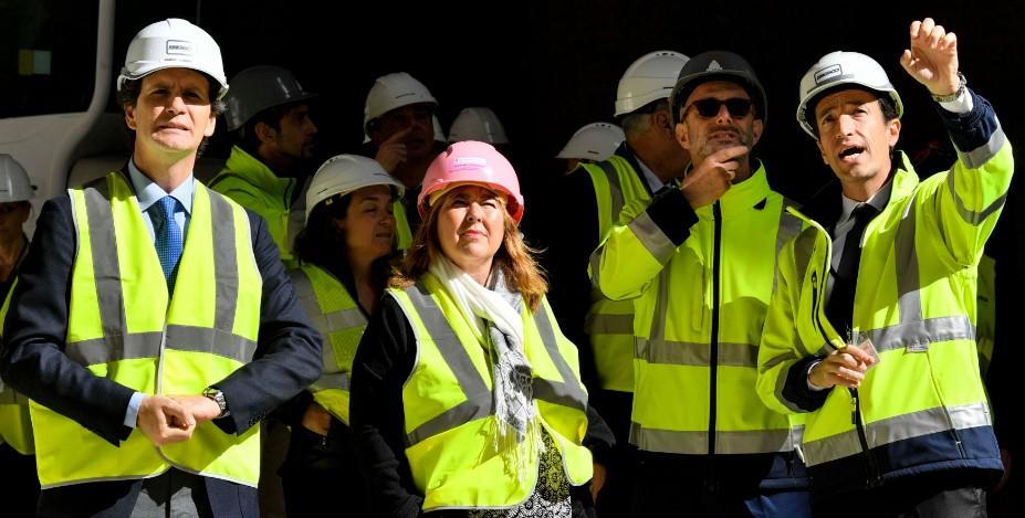 Мари-Пьер Грамалья посетила строительную площадку «Entrée de ville»