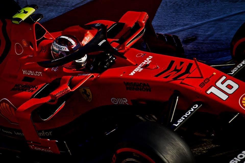 Шарль Леклер сохраняет за собой пятую позицию в испанском Гран-при