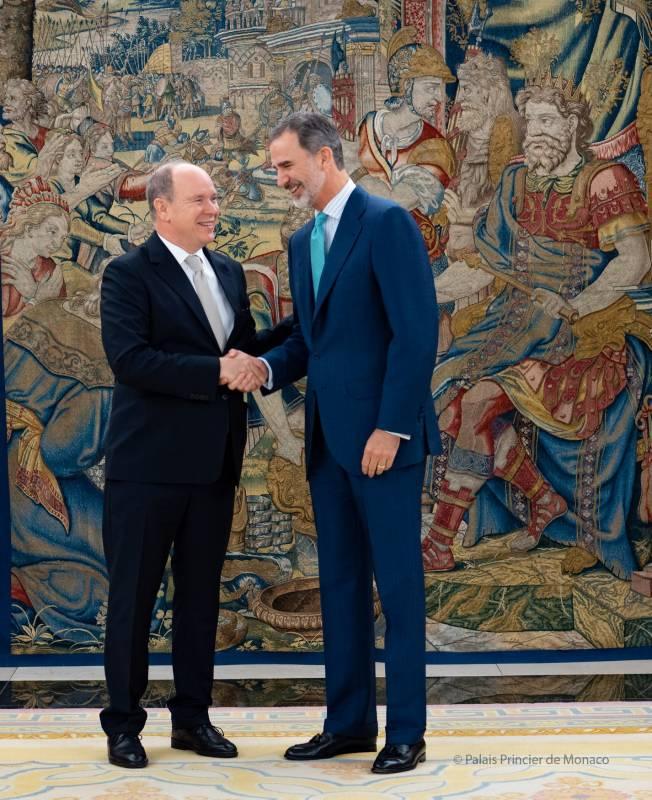 Дела княжеские: князь Монако встретился с королем Испании