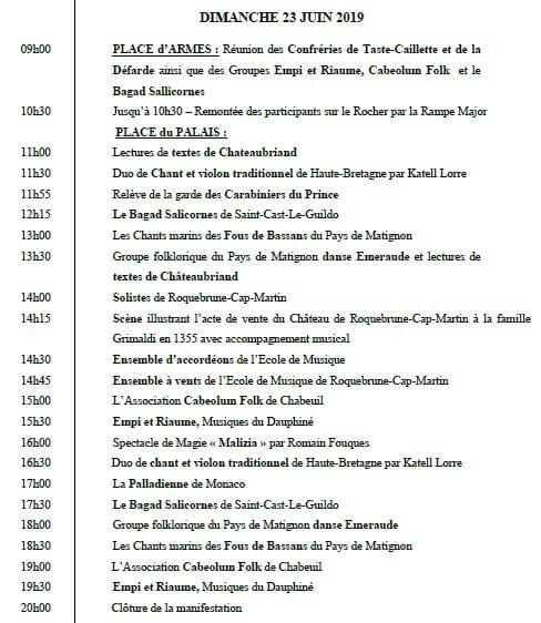 «Исторические места рода Гримальди» — 2-я встреча в Монако