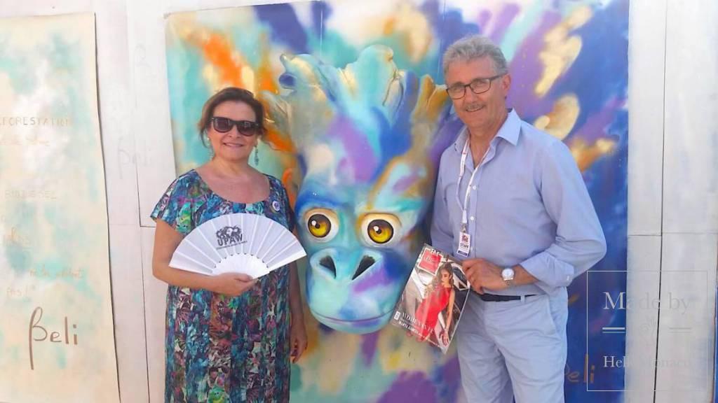 UPAW: лучшие уличные художники в поддержку исчезающих видов