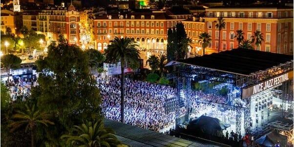 Концерт в порту Монако