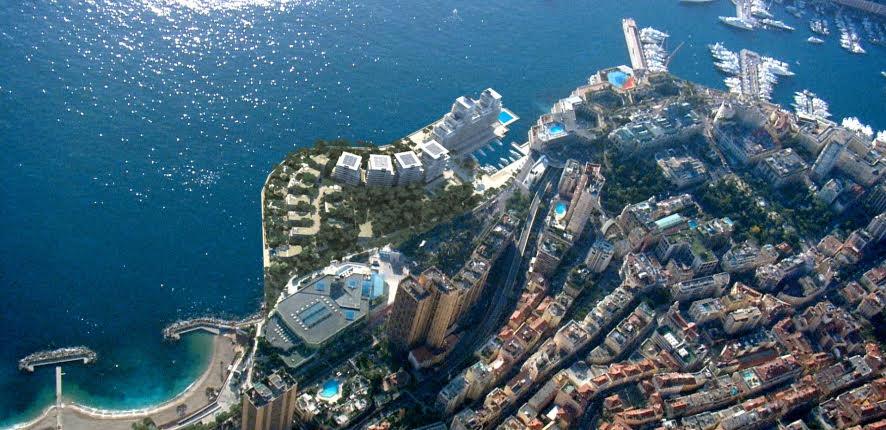 Основание нового квартала Монако по расширению в море заложено
