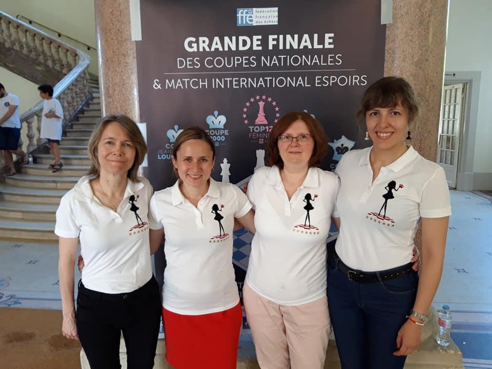 Шахматный клуб Монте-Карло одержал победу в 2 чемпионатах