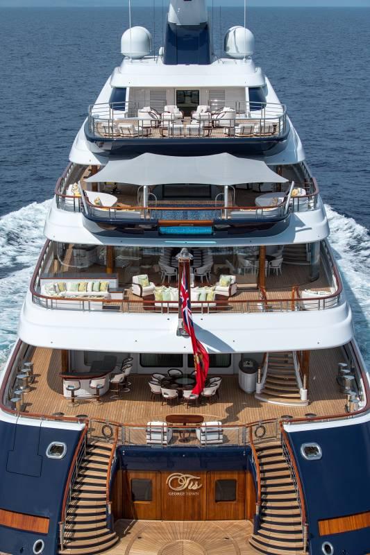 111-метровая TIS станет самой крупной яхтой Яхт-шоу Монако и другие новости