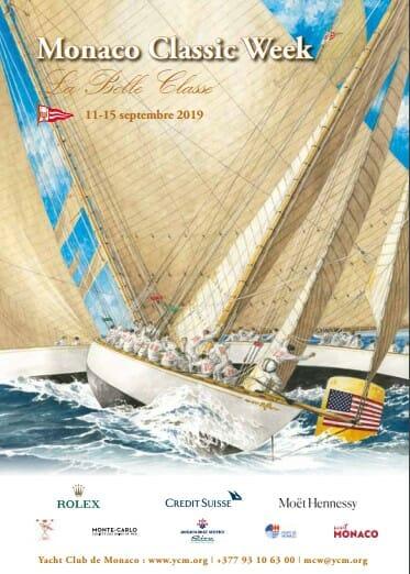 14-я неделя парусных яхт Monaco Classic Week — La Belle Classe