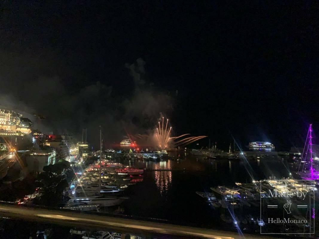 Международный фестиваль фейерверков в Монако: имена победителей
