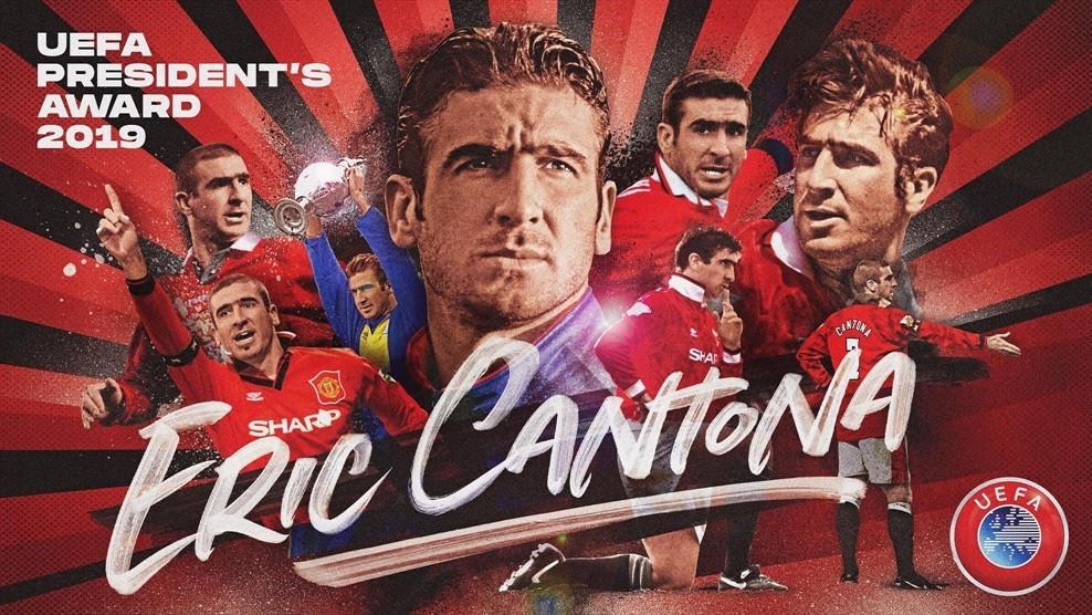 Эрик Кантона получит приз УЕФА в Монако