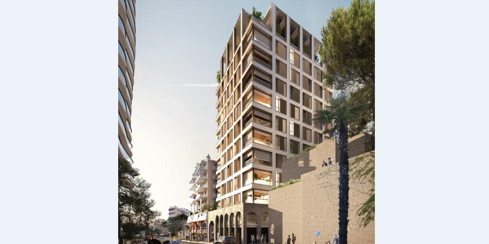 В Монако будет построена Villa Carmelha без использования строительных кранов и подъемников