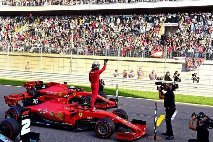 Леклер берет 3-ю позицию подиума на Гран-при России