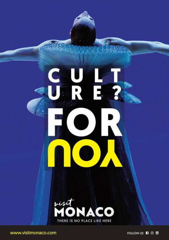 Управление по туризму и конгрессам княжества запускает новую рекламную кампанию - Монако для Вас