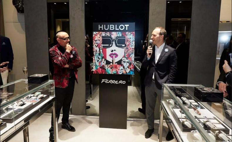 Открытие первого бутика Hublot в Монако