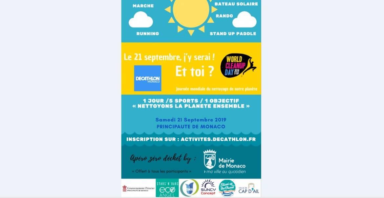1-й World CleanUp Day в Монако