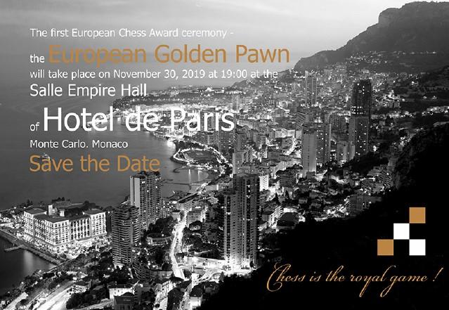 Церемония вручения наград «Золотая пешка» в Монако
