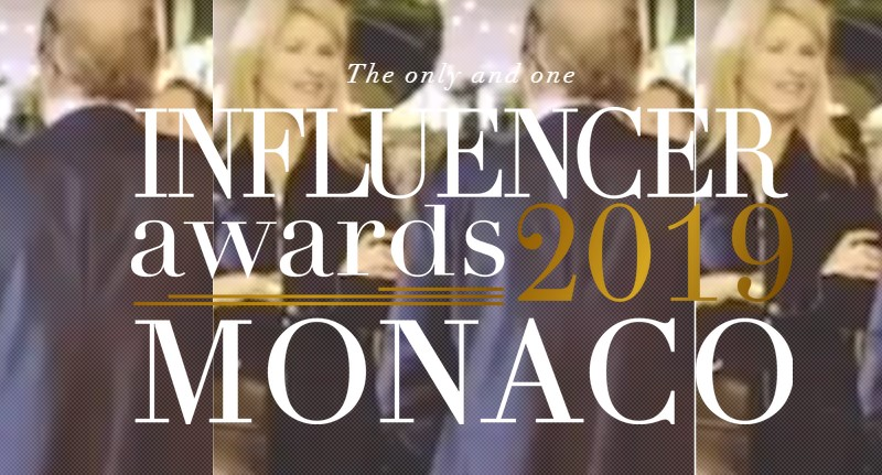 Influencer Awards 2019 Monaco