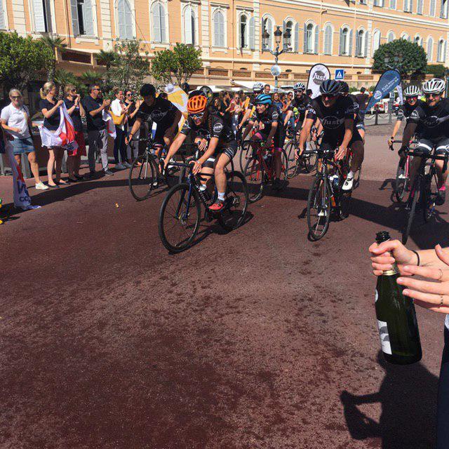 Велозаезд Лондон-Монако: за чистоту океана
