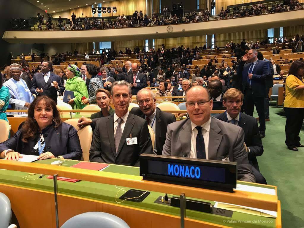 Дела княжеские: Альбер II выступил в ООН