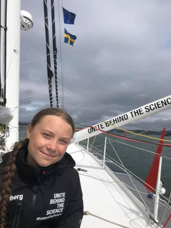 Грета Тунберг на борту Malizia II достигла берегов США