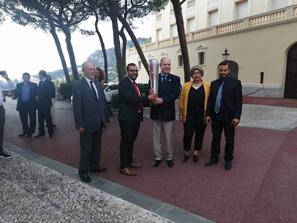 Князь Монако дал старт эко-ралли «Light Us»