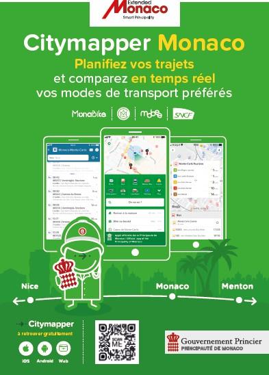 Приложение Citymapper для Монако: за экологические способы передвижения