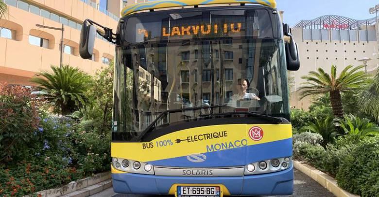 Тест электрических автобусов в Монако