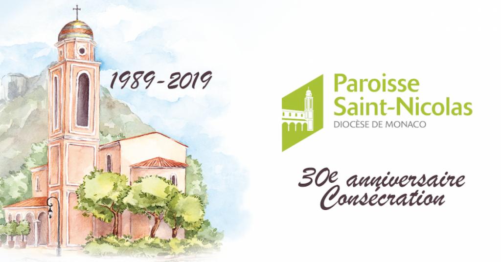 30-я годовщина освящения церкви Saint-Nicolas