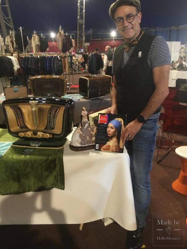 Накал страстей коллекционеров во время Винтажного Салона в Монако