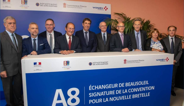 Новая транспортная развязка поможет разгрузить въезд в Монако