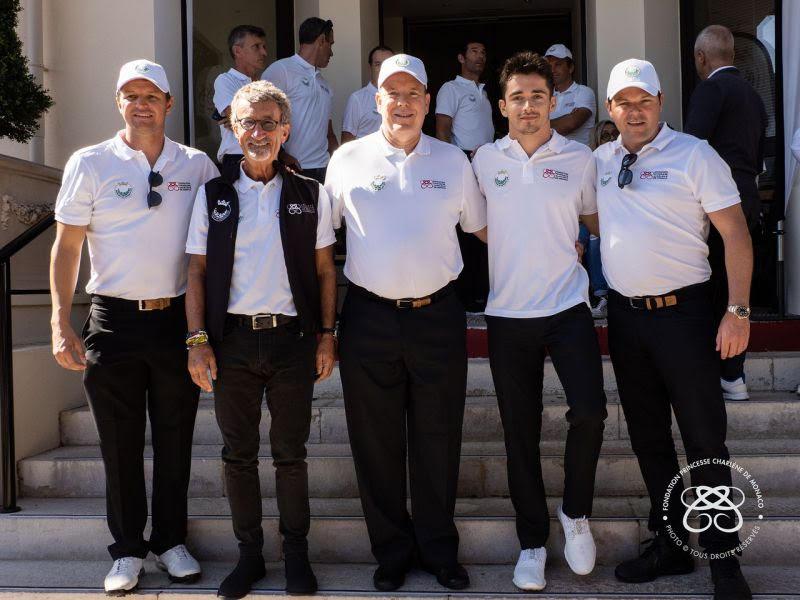 Знаменитости и любители гольфа сразились за Кубок принцессы Монако