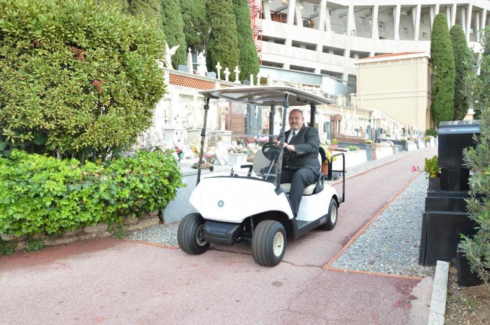Электрический транспорт доступен на кладбище Монако