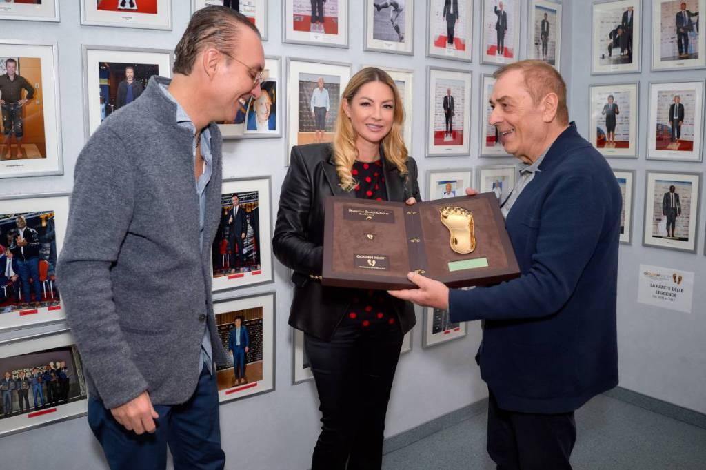Церемония награждения Golden Foot 2019: легенды футбола чувствуют себя в Монако как дома