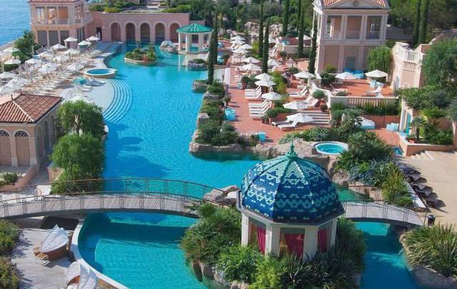Monte-Carlo Bay Hotel & Resort получил международный приз за лучший бассейн Европы