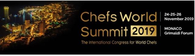 Международный саммит шеф-поваров 2019