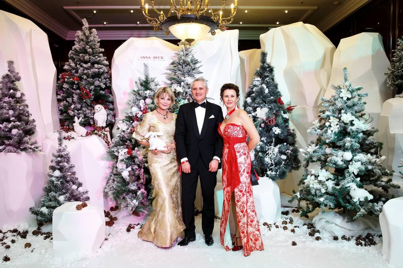 Благотворительный Зимний бал в Москве в помощь онкобольным детям
