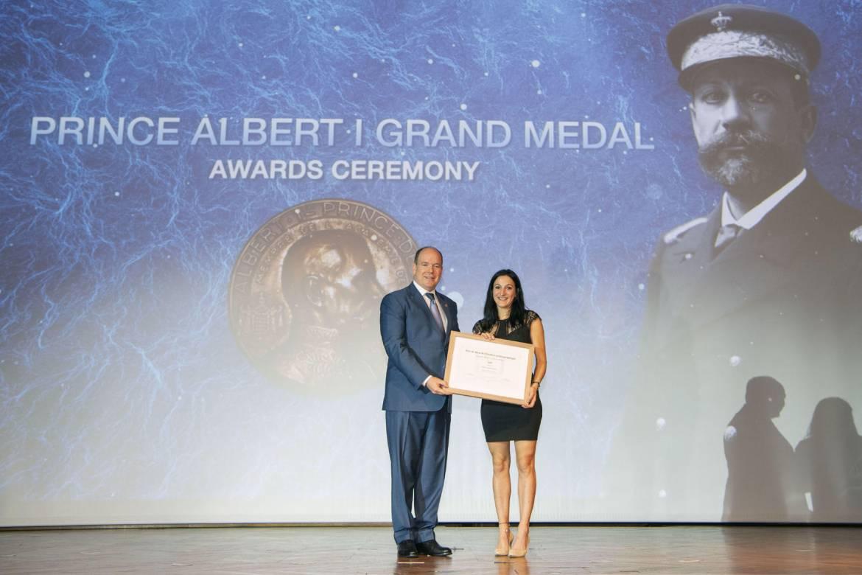 Престижная медаль Альбера I была вручена выдающимся деятелям за защиту океана