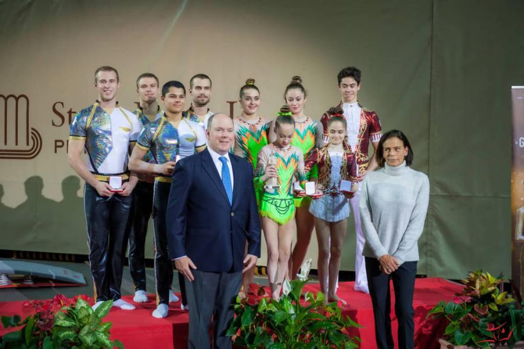 Гала принцессы Грейс 2019: лучшие гимнасты мира в Монако