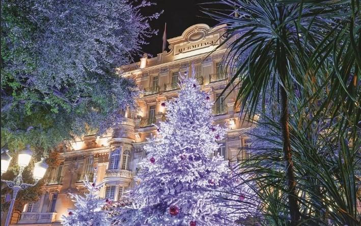 Рождественские чаепития в отеле Эрмитаж Монте-Карло