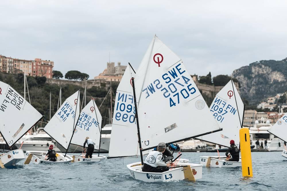 Регата юных яхтсменов - Monaco Optimist Team Race