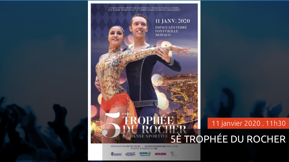 Соревнования по спортивным танцам Trophée du Rocher