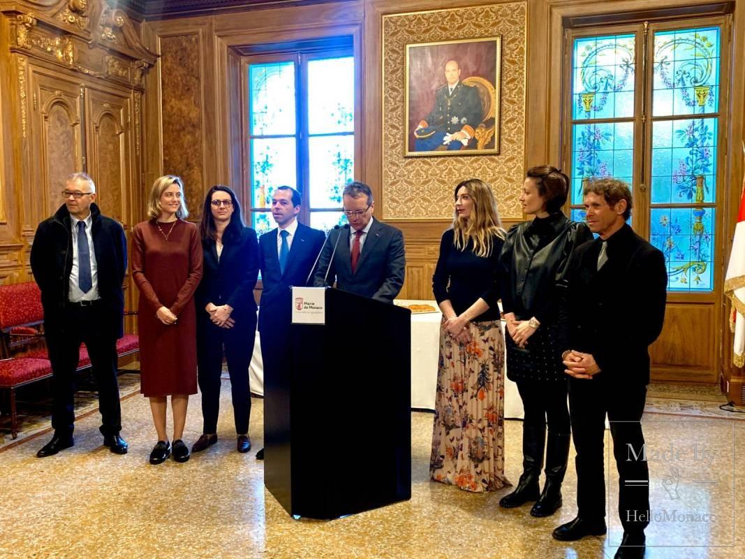 В мэрии Монако состоялся ежегодный прием представителей СМИ
