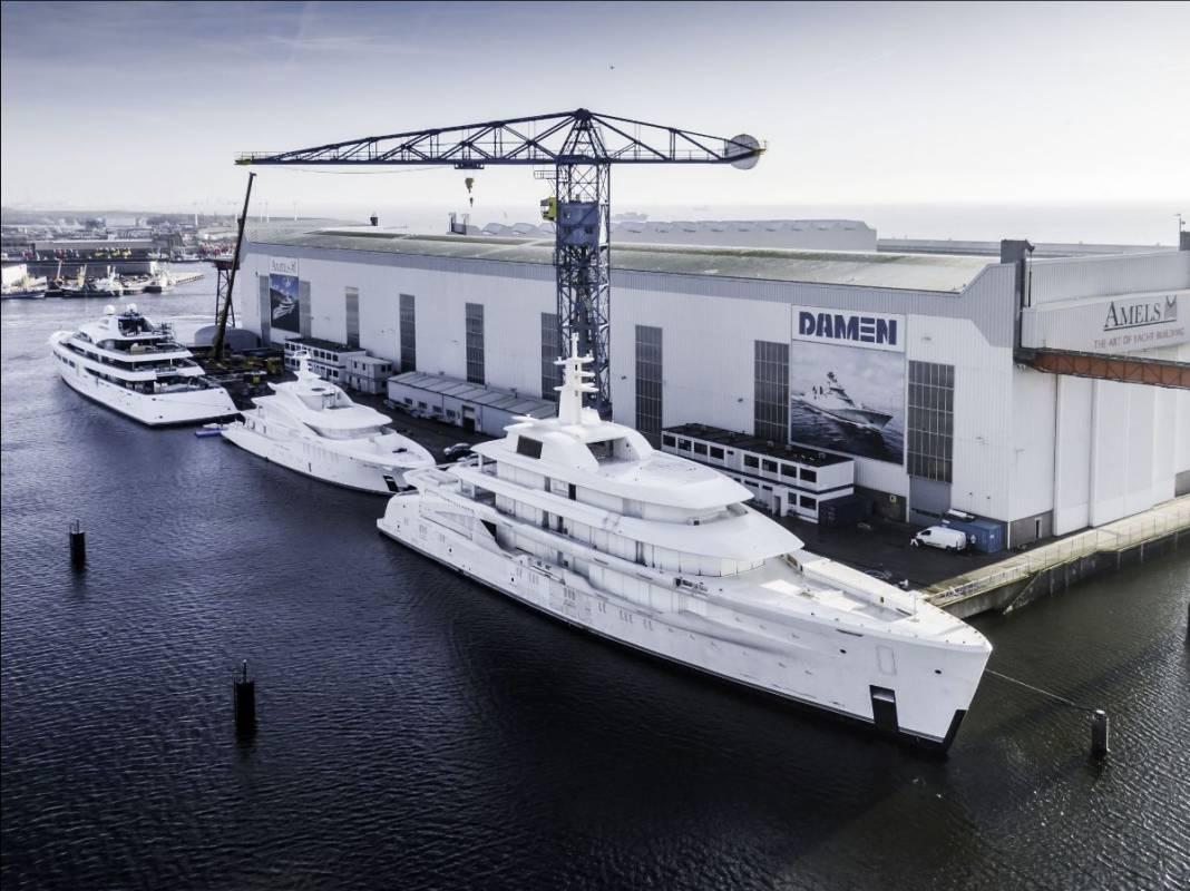 Доставка 55-метровой суперъяхты SEVERIN от BAGLIETTO и другие новости