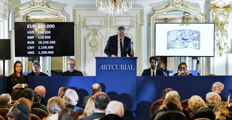 Artcurial с успехом провёл первые аукционы года