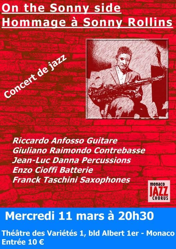 Концерт, организованный Ассоциацией Monaco Jazz Chorus