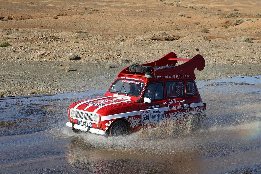 Команды княжества приняли участие в гонках по марокканской пустыне